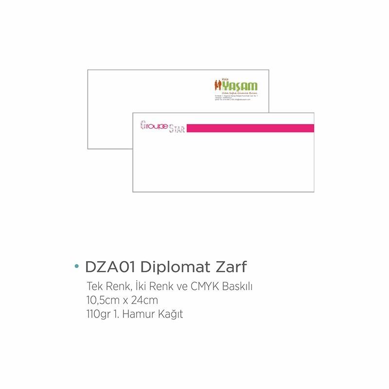 DZA01 DİPLOMAT ZARF